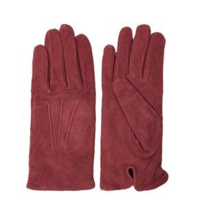 Red Suede gloves